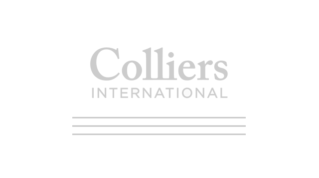 Logo colliers grey