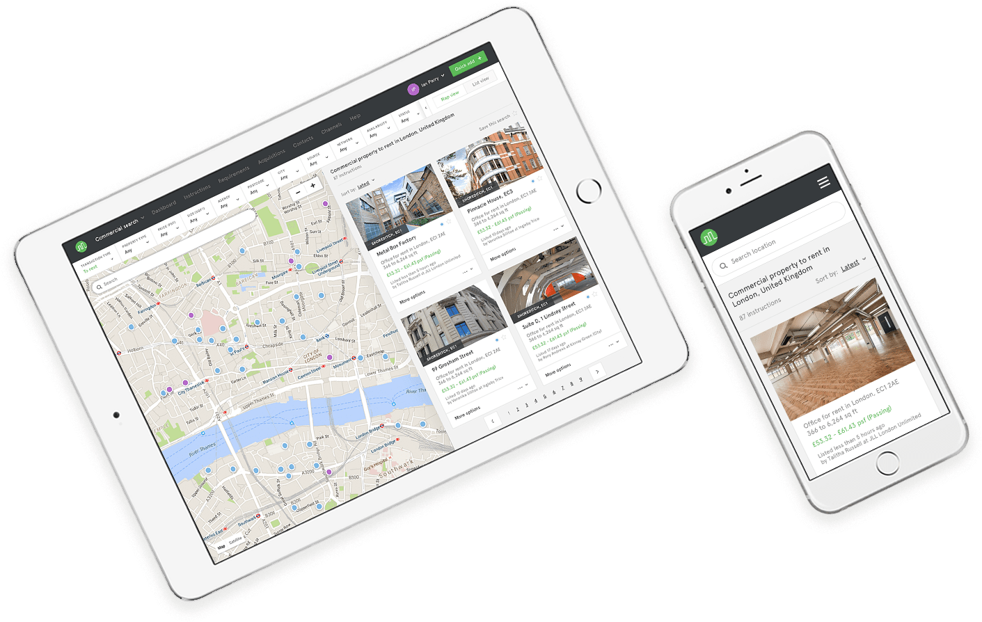Mac commercial property search engine